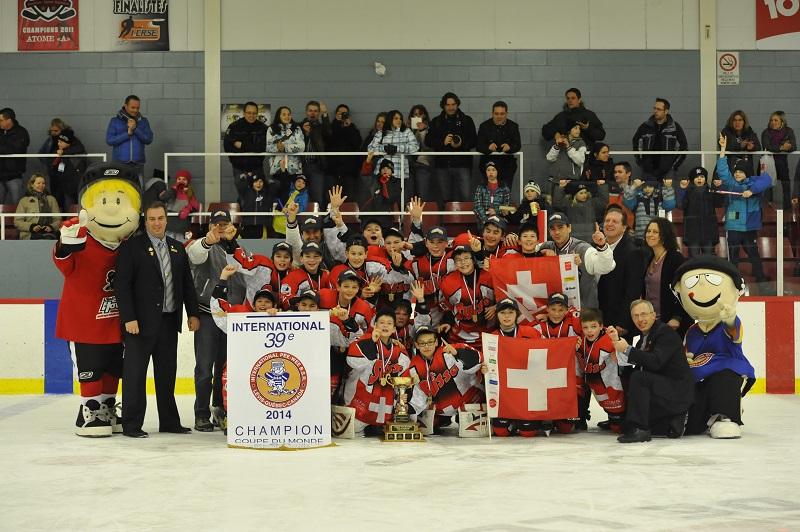 Winning teams 2014 | Tournoi Pee Wee B.S.R. (en)